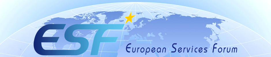 """The Voice of the European Services Sectors in International Trade"""